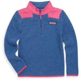 Vineyard Vines Toddler's, Little Girl's & Girl's Fleece Sweater
