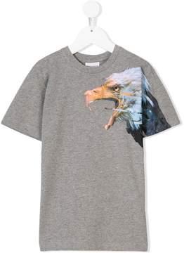 Marcelo Burlon County of Milan Kids eagle-print T-shirt