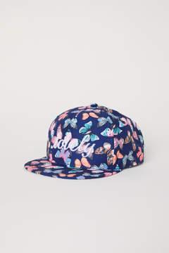H&M Cap with Motif - Blue