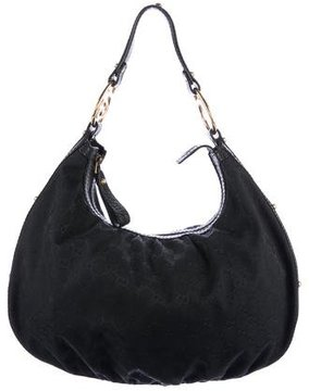 Gucci Medium Interlocking Hobo - BLACK - STYLE