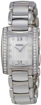 Ebel Brasilia Mini White Mother of Pearl Diamond Dial Ladies Watch