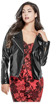 GUESS Emmi Faux-Leather Jacket