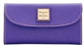 Dooney & Bourke Saffiano Continental Clutch Wallet - AMETHYST - STYLE