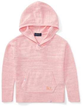 Ralph Lauren | Cotton Sweater Hoodie | 6 years | Hint of pink