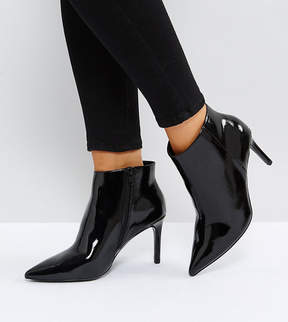 Asos EMBERLY Wide Fit Pointed Ankle Boots