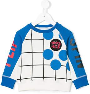 Stella McCartney Thyme check print sweater