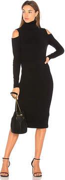 Autumn Cashmere Cold Shoulder Body Con Dress