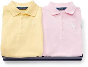 Ralph Lauren | Polo Dress 2-Piece Gift Set | 18-24 months | Blue