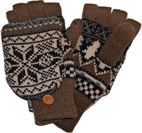 Muk Luks Nordic Fingerless Flip Top Gloves
