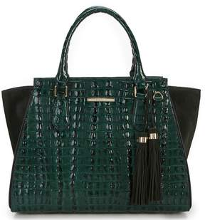 Brahmin Moore Collection Colorblock Priscilla Satchel
