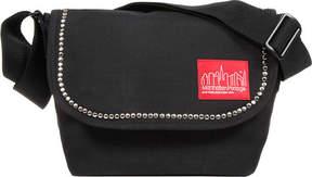 Manhattan Portage Studded Nylon Jr. Messenger Bag