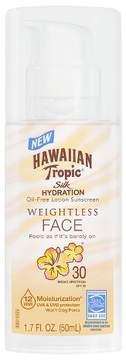 Hawaiian Tropic Silk Hydration Faces Weightless Sunscreen Pump - SPF 30 - 1.7oz