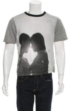 Band Of Outsiders Printed Short Sleeve T-Shirt