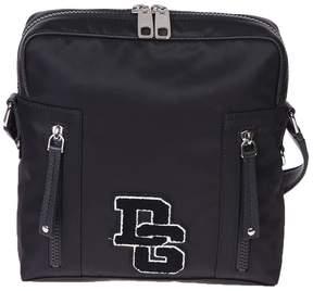 Dolce & Gabbana Black Patched Cross-body Bag