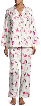 BedHead Graphic-Print Long-Sleeve Pajama Set, MET Gala