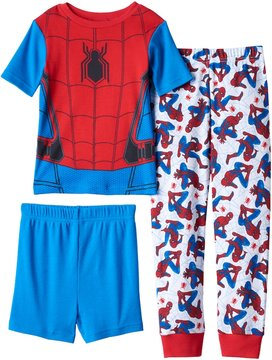Marvel Boys 4-10 Spider-Man Homecoming 3-Piece Pajama Set