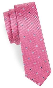 Michael Kors Boy's Dotted Silk Tie