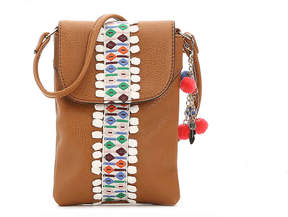 Women's Duronga Crossbody Bag -Light Brown Faux Leather