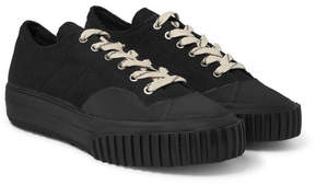 Maison Margiela Canvas And Rubber Sneakers
