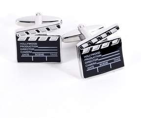 Bey-Berk Film Clapper Cuff Links