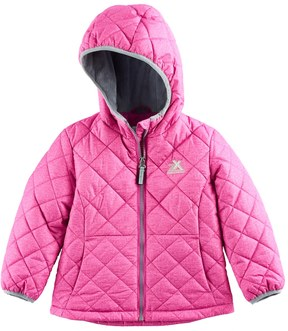ZeroXposur Toddler Girl Lydia Midweight Quilted Jacket