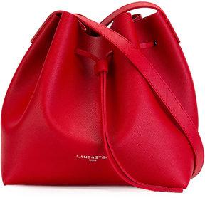 Lancaster logo print shoulder bag