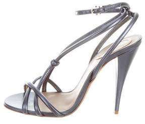 Etro Metallic Multistrap Sandals