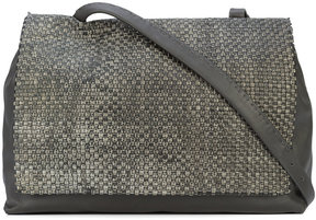 Henry Beguelin structured square tote bag