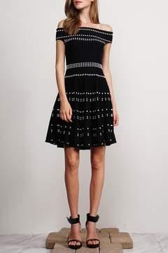 Adelyn Rae Dolce Off-Shoulder Dress