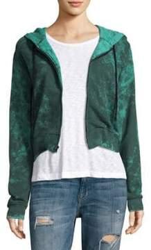 Cotton Citizen Milan Cropped Zip-up Hoodie