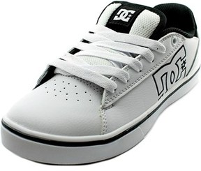 DC Notch Round Toe Leather Skate Shoe.