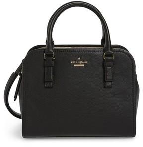 Kate Spade Jackson Street Small Kiernan Leather Top Handle Satchel - Black