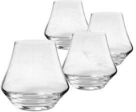 Cathy's Concepts Stemless Whiskey Glasses-9.75oz./ Set of 4