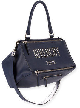 Givenchy Pandora Medium Logo Bubble Satchel Bag