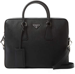 Prada Small Saffiano Leather Briefcase
