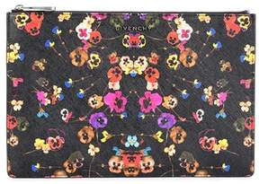 Givenchy Printed fabric clutch