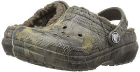 Crocs Classic Lined Clog Realtree Xtra (Toddler/Little Kid)