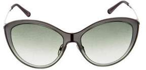 Valentino Metal Cat-Eye Sunglasses