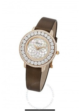 Chopard Heure du Diamant Mother of Pearl Filigree Motif Dial Ladies Watch