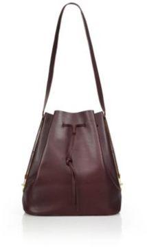 Sophie Hulme Leather Bucket Bag