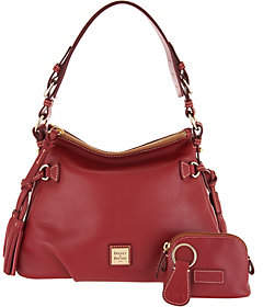 Dooney & Bourke As Is Smooth Leather Shoulder Bag- Teagan
