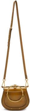 Chloé Brown Small Nile Bracelet Bag
