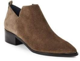 Marc Fisher Textured Leather Chelsea Boots