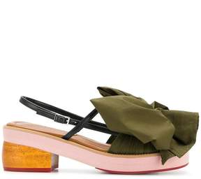 Marni oversized bow sandals