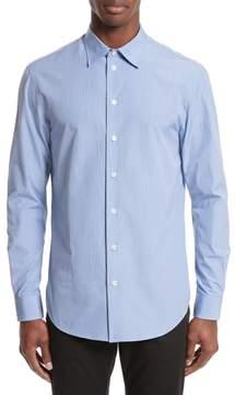 Armani Collezioni Micro Check Sport Shirt