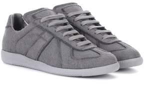 Maison Margiela Replica felt sneakers