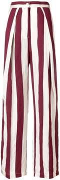 Aspesi striped wide-leg trousers