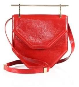 M2Malletier Amor Fati Patent Leather Shoulder Bag