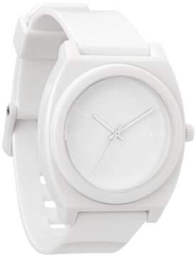 Nixon Time Teller Quartz White Dial Men's Watch A119-100