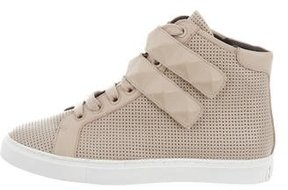 Rebecca Minkoff Perforated High-Top Sneakers